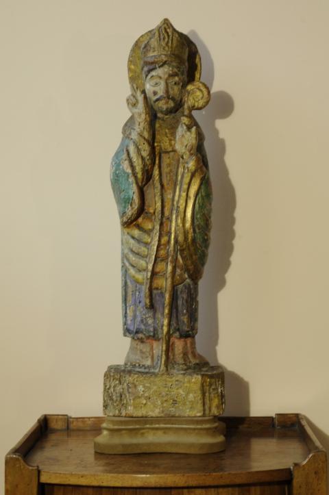 Statue mobile d/'un corbeau en fer et en verre 151 cm
