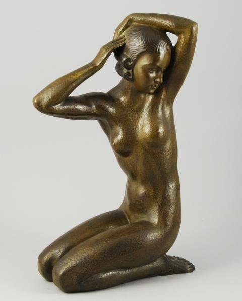 statue homme nu debout isabelle breuil elle toute nue