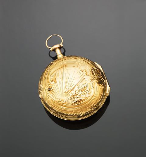 9962f19891f0 MONTRE À COQ dite du DUC DE CHOISEUL en or.