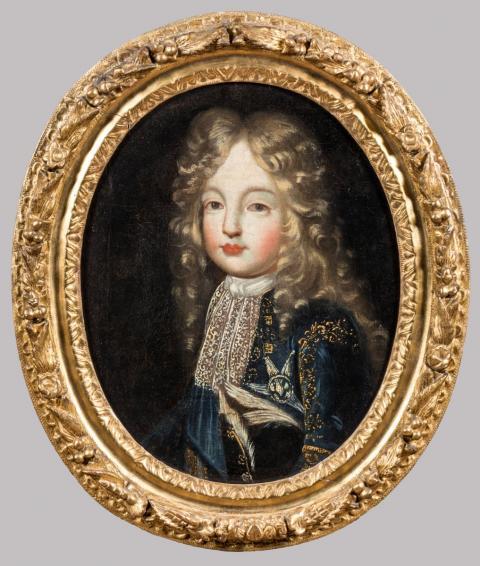 École FRANÇAISE vers 1690.Portraits présumés du duc et de la. 86032cf767d7