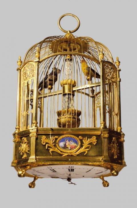 Pendule Cage Rouillac