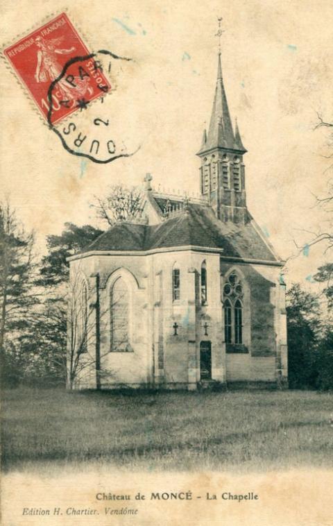 CHAPELLE SAINT-MICHEL, Château de Moncé, RN 10.<br />41100 Saint-Firmin des...