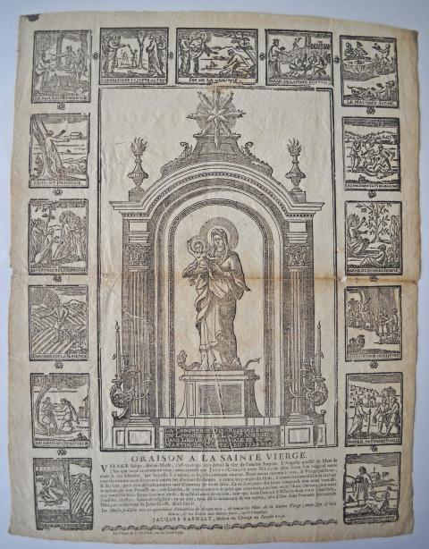 Calendrier Deg Orleans.Religious And Popular Imagery Rouillac