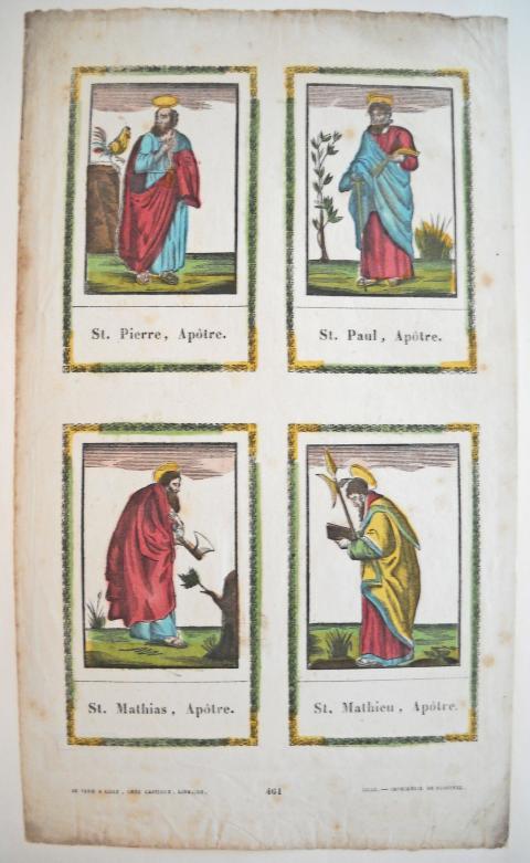[Imagerie Religieuse] LILLE. Simon BLOCQUEL (1780 1863), Actif Dans