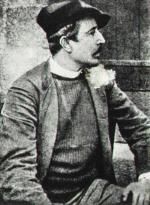 Fig. 28 (détail). Photographe anonyme, Paul Gauguin à Pont-Aven, 1886. Collection privée.