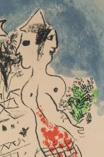 "Marc CHAGALL (Vitebsk, 1887 - Saint-Paul-de-Vence, 1985)""International Rescue commitee"", Paris,..."