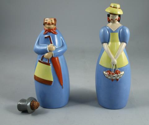 Violet Clair//dor/é Lalique Poisson Figurine